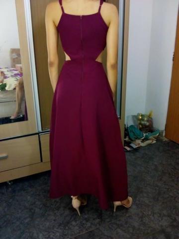 Vestido Vinho - Foto 2