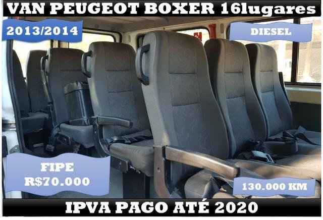 Van Peugeot Boxer 16 Lugares 2014 Ipva Pago até 2020 - Foto 3