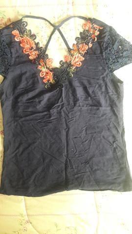 Blusas lindinha P - Foto 2