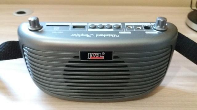 Kit professor/amplificador de cintura JWL (o amigo da sua voz!)