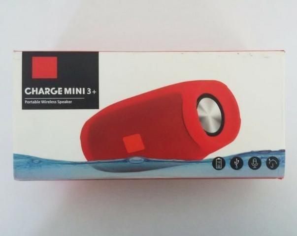 Caixa Bluetooth Charge Mini 3 - Nova - Foto 2