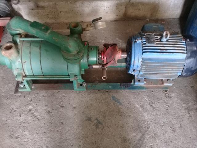 Bomba de vacuo + motor