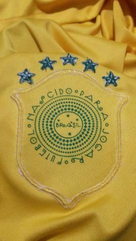 Raridade!! camisa da seleção brasileira 2014 - Foto 3