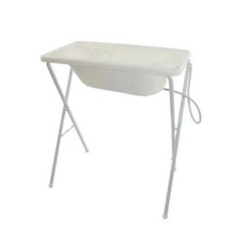 Banheira para Bebê Burigotto, com suporte e assento - Foto 2
