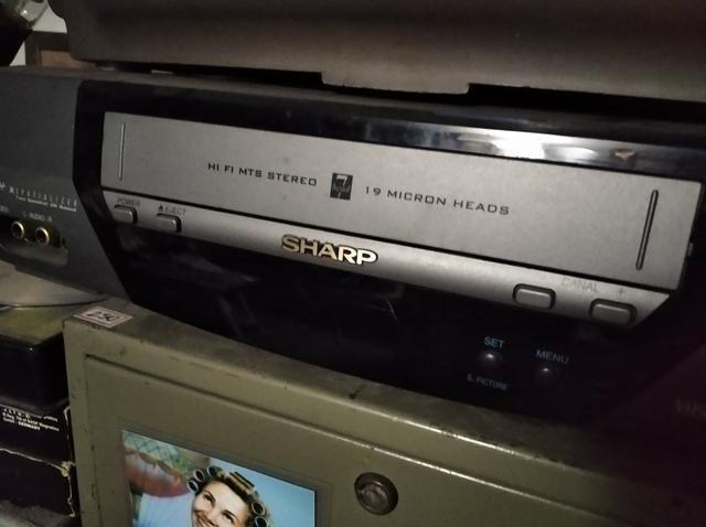 Videocassete Sharp 19 cabeças - Foto 2