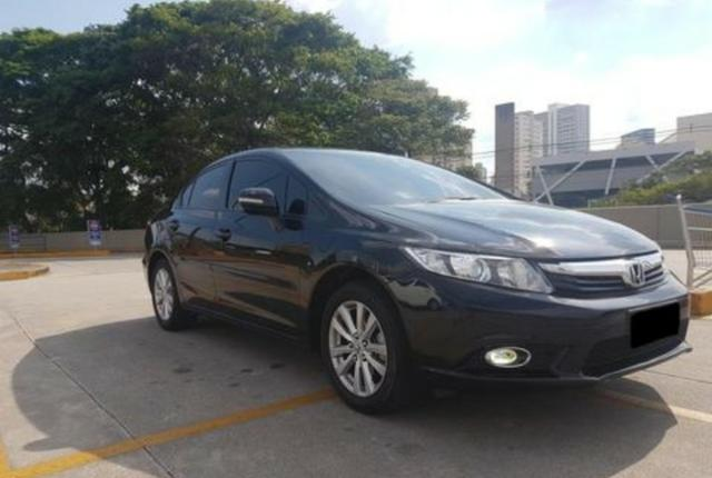 Honda Civic 1.8 Lxl 16v Flex Automatico - Foto 8