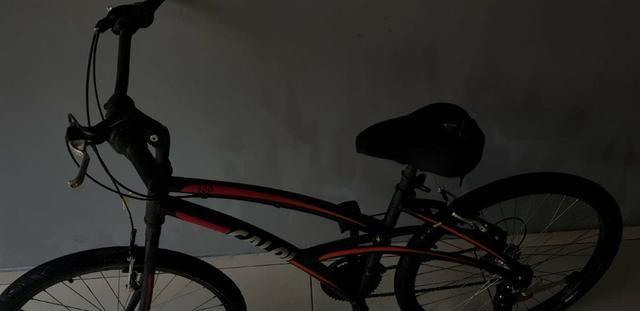 Bicicleta Caloi 300 - Aro 26 Feminina - Shimano 21 Marchas - Foto 3