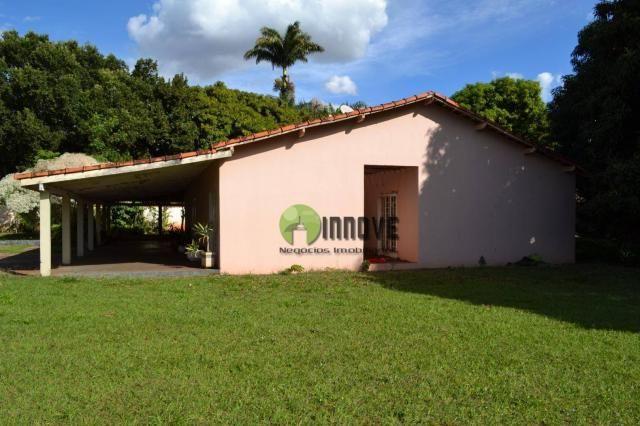 Chácara com 4 dormitórios à venda, 2450 m² por r$ 600.000 - condomínio estância beira rio  - Foto 7