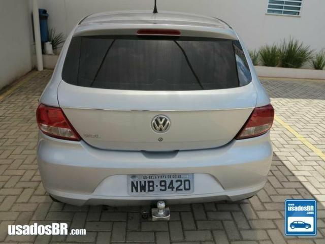 Volkswagen gol G5 trend 1.0 prata 2011 - Foto 4