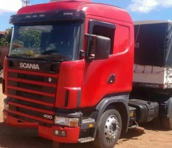 Scania 124 400 ano 2006 com bitrem randon ano 2011(oportunidade para primeiro caminhão) - Foto 4