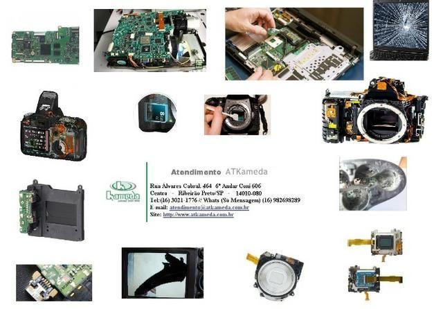 Conserto de Flashes, Objetivas e câmeras fotográficas