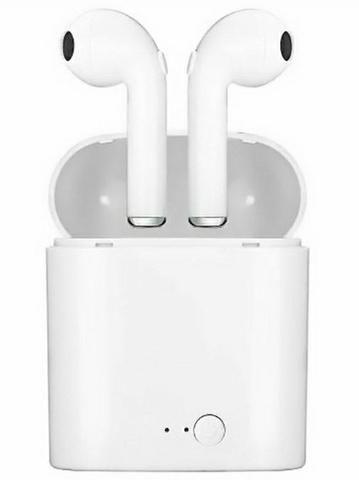 Fone de ouvido I8S sem fio e Bluetooth