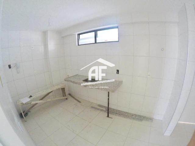 Apartamento novo na Jatiúca - 3 quartos sendo 1 suíte - Prédio com piscina - Foto 8