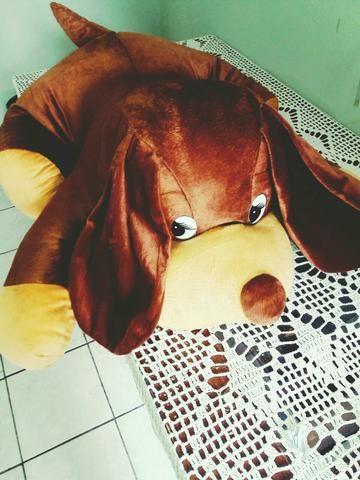 Cachorro pelúcia gigante 1M - Foto 2
