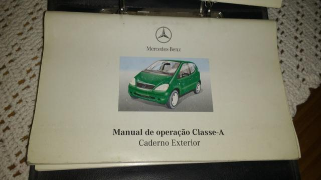 Manual do proprietário Classe A Mercedes Benz W168 - Foto 8