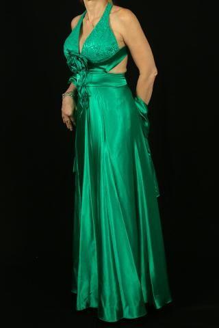 7d2a62b06 Vestido de festa verde bandeira semi novo - Roupas e calçados - Mata ...