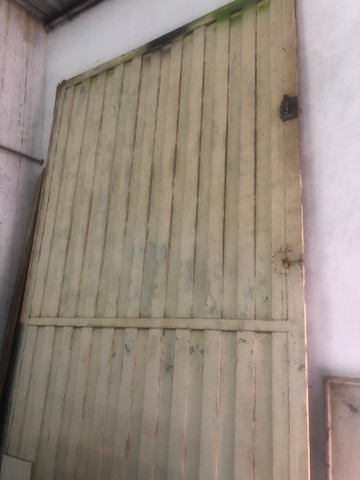 Porta/Portão para Usina ou Barracão
