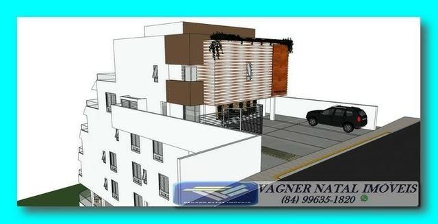 VR-Projeto Aprovado Pé na Areia ao Lado do Morro do Careca em Ponta Negra - Foto 3