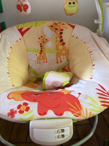 Cadeira de Descanso Mastela Musical e Vibratória Girafa - Foto 2