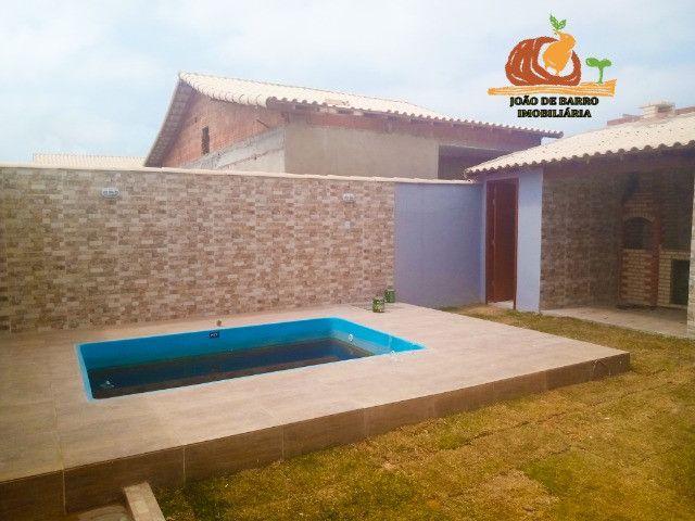 Casas em Unamar Tamoios Cabo Frio com piscina e churrasqueira - Foto 3