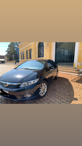 Honda Civic LXL 1.8 flex 2012/2013 - Foto 4