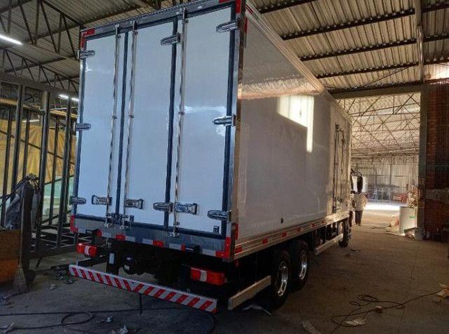 bau de fribra para caminhoes 3/4 novos usados e remanu Mathias implementos  - Foto 4