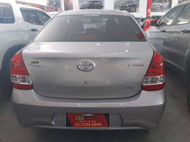 Etios 2018 1.5 X Sedan, flex, automático  - Foto 4