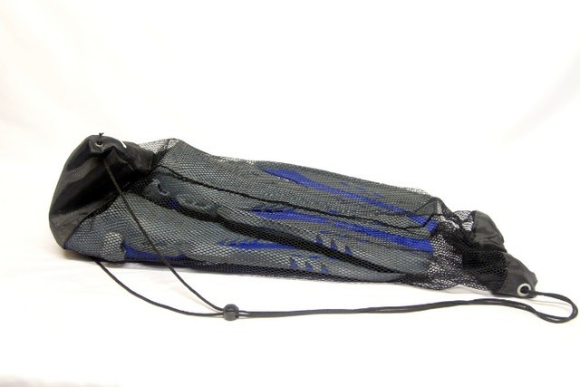 Kit pé de pato nadadeira máscara snorkel mergulho maui - Foto 2