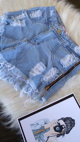 Short Jeans destroyed  - Foto 3
