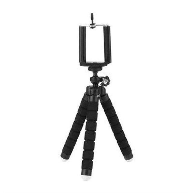 Mini Tripé Flexível Para Celular De Mesa Articulado - Foto 5