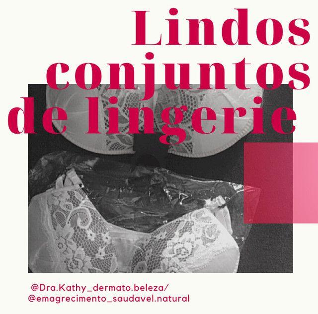 Lindos conjuntos de lingerie em promoção  - Foto 2