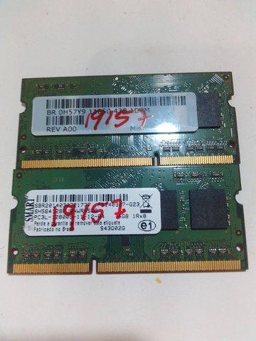 2 x Memória RAM 4GB 1x4GB Smart DDR3   - Foto 3