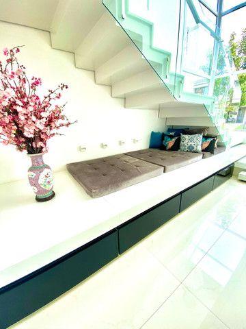 Linda casa projetada por arquitetos , 440m2  de puro luxo, requinte e bom gosto - Foto 10