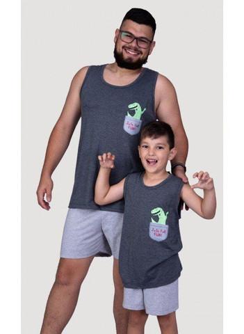 Pijama Infantil Dino - Foto 2