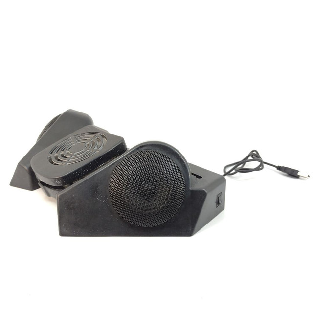 Base para notebook Hub USB, Caixas de som e cooler - Foto 5