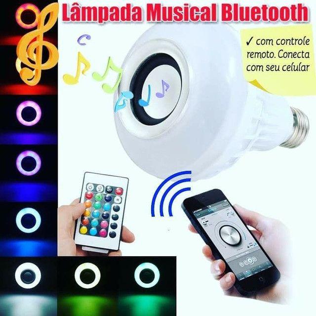 Lâmpada bluetooth musical