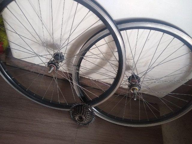 Peças bicicleta  - Foto 4