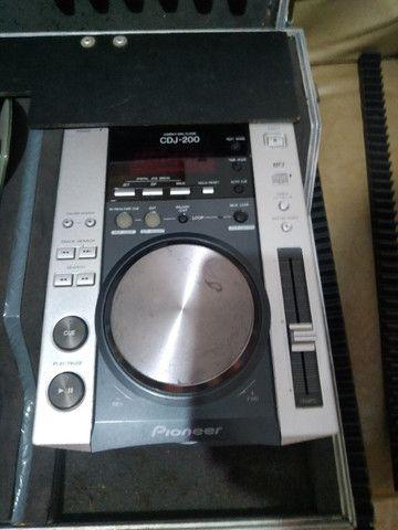 Kit CDJ + Mixer + som - Foto 2