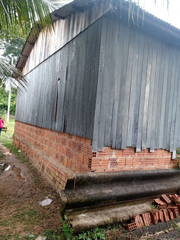 Verde_se está casa na vila acre aceito troca em gado ou uma casa no João Eduardo - Foto 4