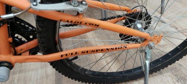 Bicicleta caloi aro 26 semi nova