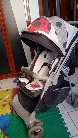Carrinho de Bebê Galzerano Joaninha Unissex - Foto 4