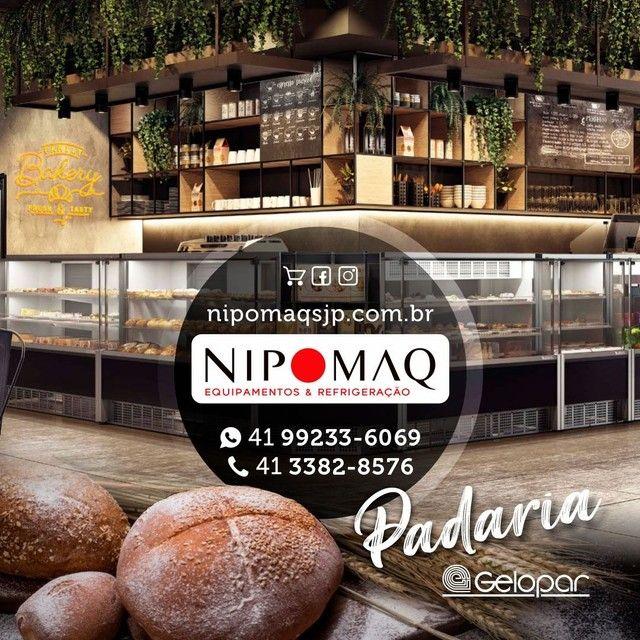 CFNT-2000 BALCÃO VITRINE REFRIGERADA PADARIA NEW TITANIUM REFRIMATE - Foto 5