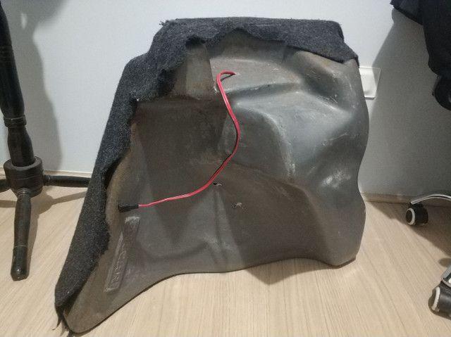 Caixa de som embutida p/ Gol G5 com alto falante Bravox - Foto 3