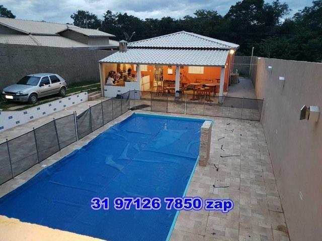 Lindo sítio com piscina,pomar,murado,casa colonial,250 mil - Foto 15