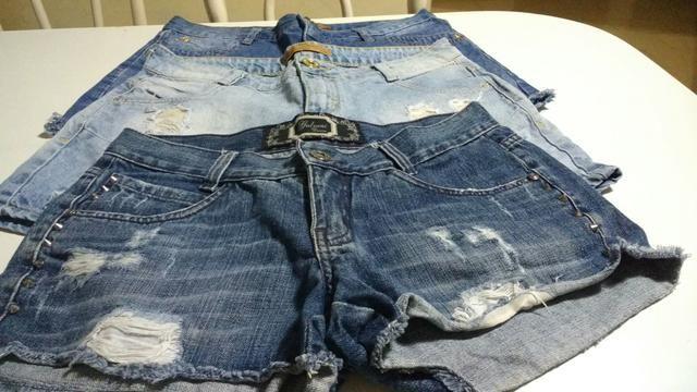 Shorts jeans adulto