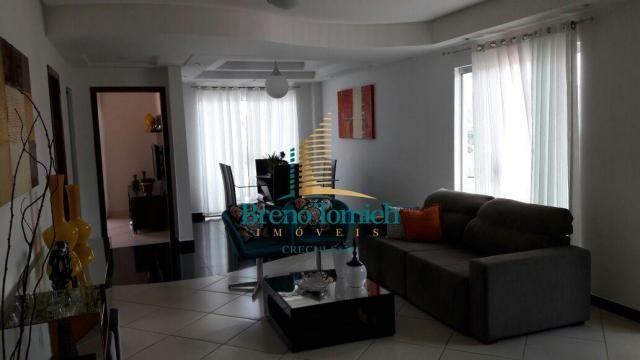 Cobertura com 3 dormitórios à venda, 313 m² por r$ 830.000 - ipiranga - teófilo otoni/mg - Foto 4