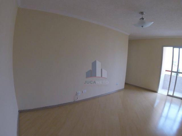 Apartamento com 2 dormitórios para alugar, 52 m² por r$ 1.350/mês - parque são vicente - m - Foto 4