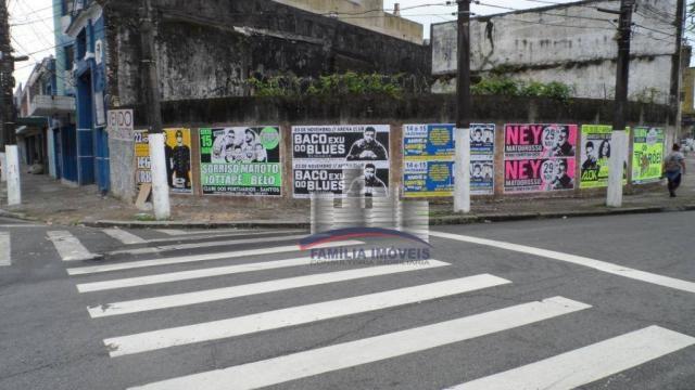 Terreno à venda, 420 m² por R$ 750.000,00 - Vila Matias - Santos/SP - Foto 9