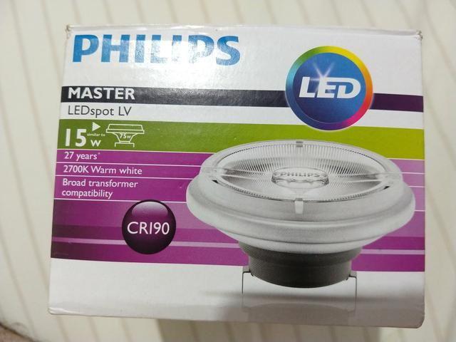 Lâmpada Philips master ledspot ARlll 12 volts 15 watts - Foto 3