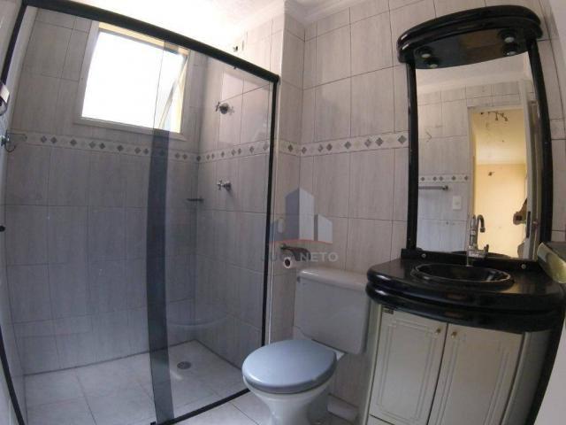 Apartamento com 2 dormitórios para alugar, 52 m² por r$ 1.350/mês - parque são vicente - m - Foto 16
